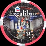 EXCALIBUR 5 $ PLAY AT THE PARTY PIT