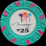 THE MIRAGE 25 $