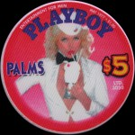 PALMS PLAYBOY Pinup Glace 5 $