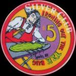SILVER CLUB 5 $