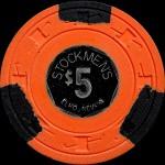 STOCKMEN'S 5 $