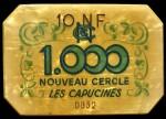 CERCLE LES CAPUCINES 1 000