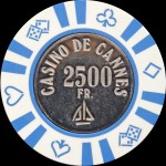CANNES 2 500 Fr