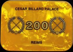 CESAR BILLARD PALACE 200