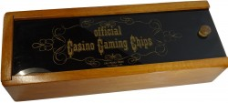 CASINO CHIPS BOX
