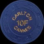 LE CARLTON CANNES  10 F