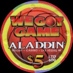 ALADDIN We Got Game 5 $