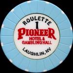 PIONEER Laughlin 1 Roulette bleu ciel