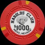 HAROLD CLUB Reno 1 000 $