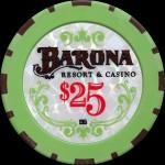 BARONA 25 $