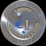 GREOUX LES BAINS   1 €