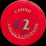 GREOUX LES BAINS  2 €