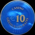 GREOUX LES BAINS  10  €