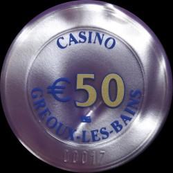GREOUX LES BAINS 50 €
