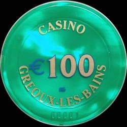 GREOUX LES BAINS 100 €