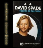 PLANETE HOLLYWOOD DAVID SPADE