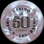 GREOUX LES BAINS 50