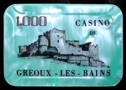 GREOUX LES BAINS 1 000