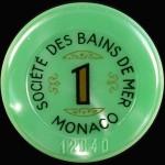 Jeton 1 Monaco