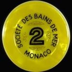 Jeton 2 Monaco