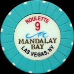MANDALAY BAY 9 ROULETTE