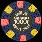 Jeton 100F Monaco