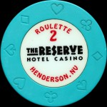 THE RESERVE 1 ROULETTE