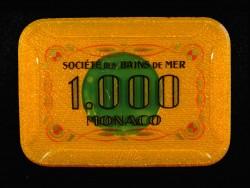 Plaque 5000 Monaco