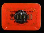 Plaque 2000 Monaco