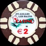 ST GILLES LES BAINS 2 €
