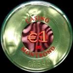 MONTROND 1 €