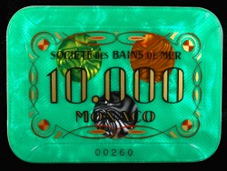 MONACO 10 000 Vert