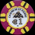 ST PIERRE DE LA REUNION 1 €