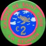 ST DENIS DE LA REUNION 2 €