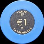 LA TREMBLADE 1 €