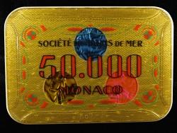 Plaque 50 000 Monaco
