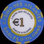 LES SABLES D 'OLONNE 1 €