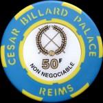 CESAR BILLARD PALACE 50