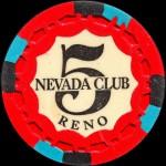 NEVADA CLUB 5 $