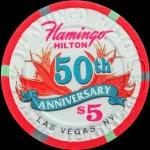 FLAMINGO 50 th Anniversaire 5 $