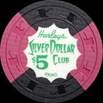 HARLEYS SILVER DOLLAR Club-5 -Reno