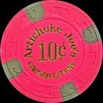 ARTICHOKE-JOE'S 10 c Carson City