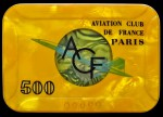 AVIATION CLUB DE FRANCE 500
