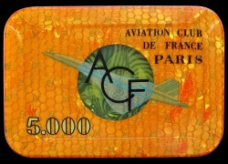 AVIATION CLUB DE FRANCE 5 000