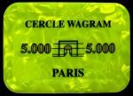 CERCLE WAGRAM 5 000