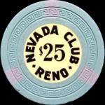 NEVADA CLUB 25 $