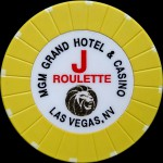 MGM GRAND J ROULETTE