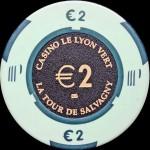 CHARBONNIERES LES BAINS 2 €
