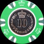 MATSUI CASINO CHIPS 10 $