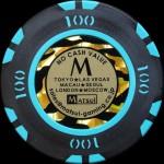 MATSUI CASINO CHIPS 100 $